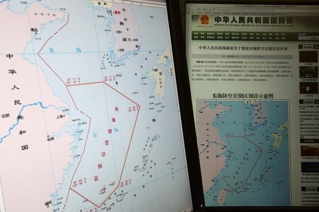 NORAD: Santa Won't Recognize New Chinese Air Defense Zone