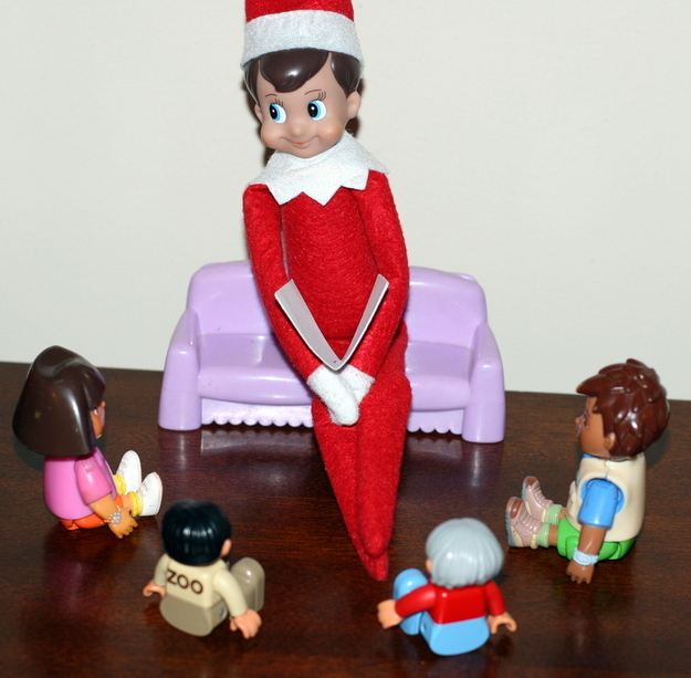 22 Naughty Things The Elf On A Shelf Is Doing While You're Not Home