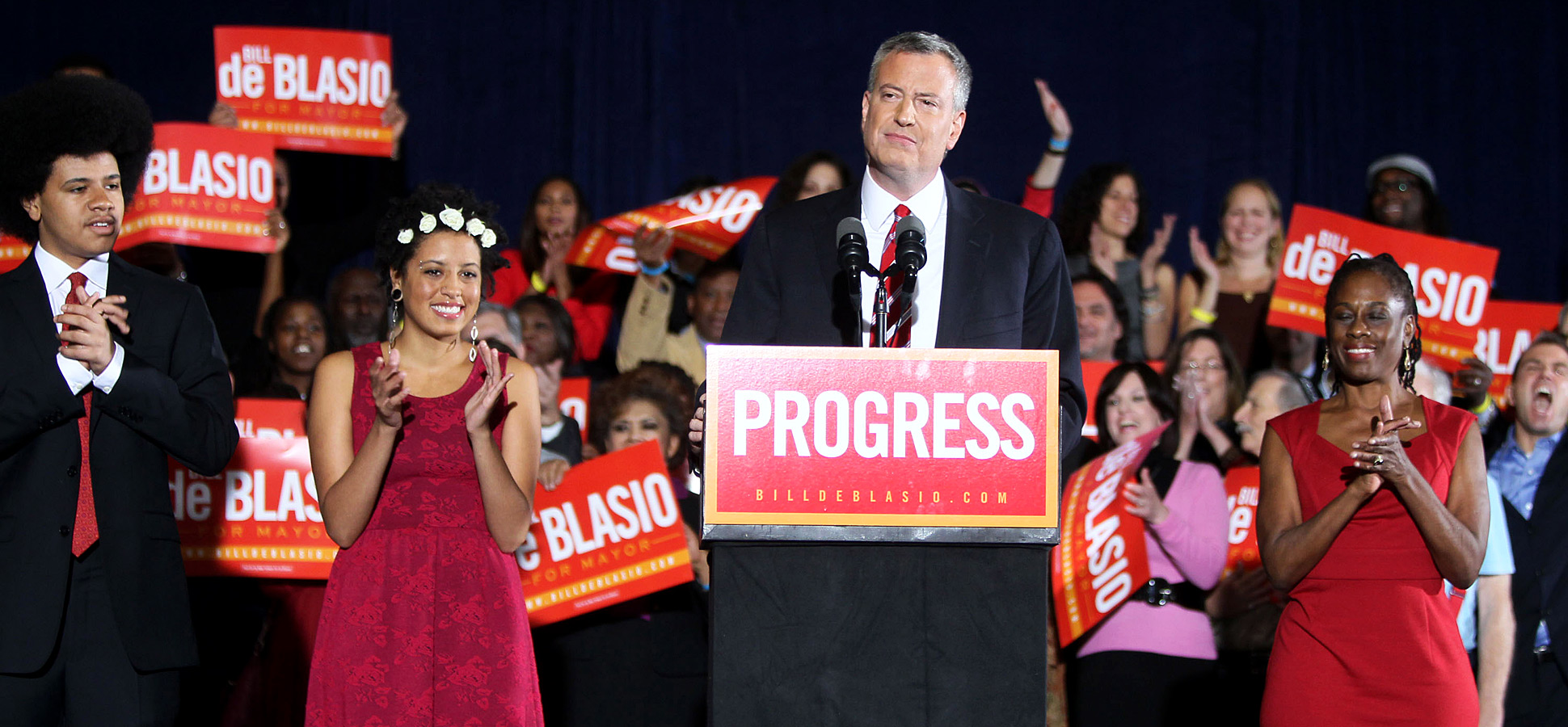 He's No Bloomberg, But New York's Next Mayor Is Your Friend