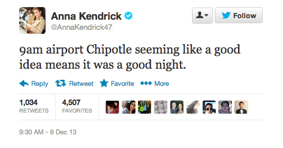 9 Celebrity Tweets You Missed Today