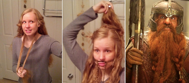 This Is How To Braid Your Hair Into A Gimli Beard