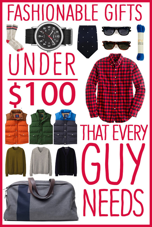 30 Fashionable Gifts Under $100 That Every Guy Needs