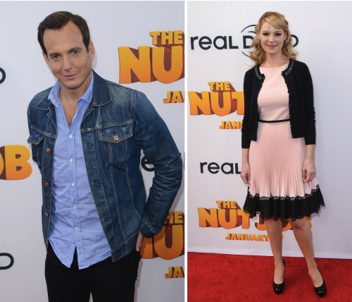 Will Arnett and Katherine Heigl Dish On Their Kids & 'The Nut Job'