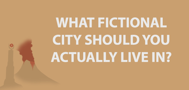 What Fictional City Should You Actually Live In?