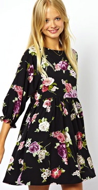 Class to Night Out: Floral Print Dress