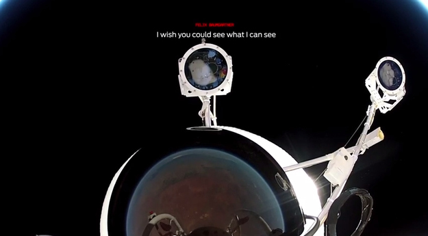 Here's A Stunning First-Person View Of A Free-Fall From Space
