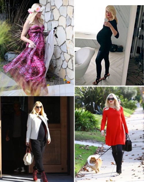 Gwen Stefani's Top 10 Maternity Looks