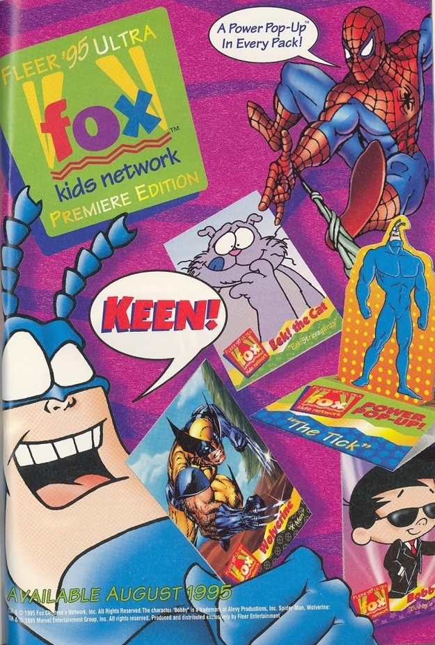 This Fox Kids Club Magazine From 1994 Is Pure Nostalgic Awesomeness