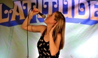 Latitude comedy tent filled to bursting with funny women