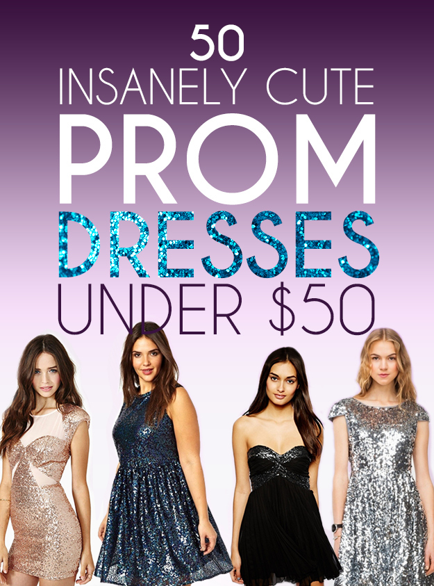 50 Insanely Cute Prom Dresses Under $50