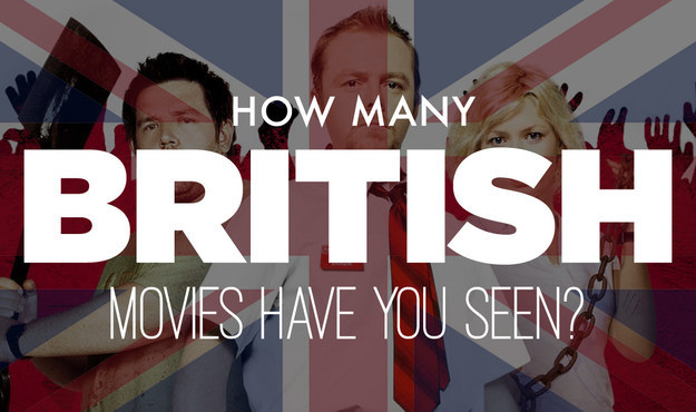 How Many British Movies Have You Seen?