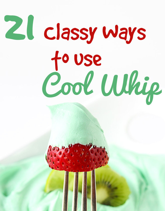 21 Classy Ways To Use Cool Whip