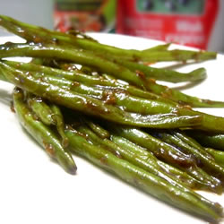 Low-Calorie Recipes: Chinese Green Bean Stir-Fry