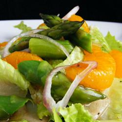 MyPlate Recipes: Asparagus, Orange and Endive Salad