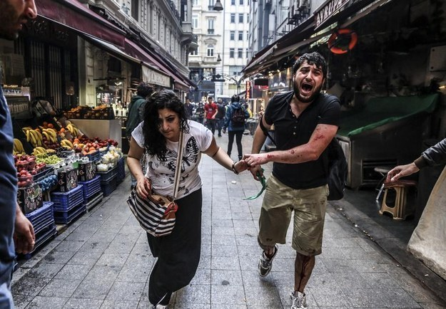 Turkish Protesters Clash With Police On Anniversary Of Deadly Demonstrations