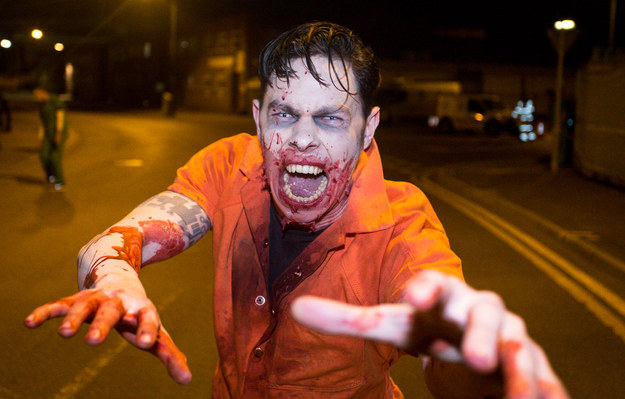 The Apocalyptic Zombie Chase Game That's A Metaphor For U.K. Politics