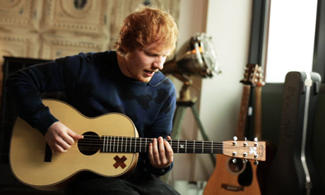 Behind the beat: Ed Sheeran performs I'm a Mess from his latest album 'X' video