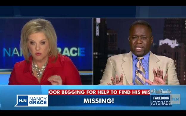 Father Of Missing Boy Told His Son Was Actually Trapped In The Basement During Live Nancy Grace Segment