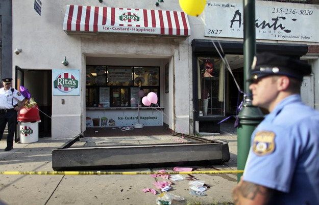 A 3-Year-Old Was Killed After Being Crushed By An Ice Cream Shop's Security Door