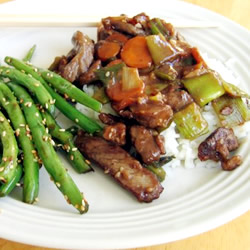 Low-Calorie Recipes: Mongolian Beef I