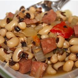 Low-Fat Recipes: Slow Cooker Spicy Black-Eyed Peas