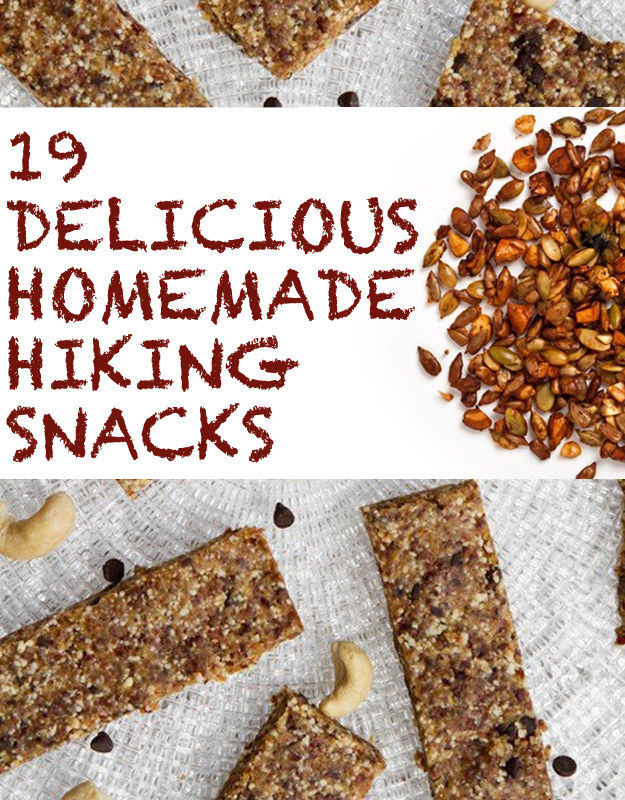 19 Delicious Homemade Hiking Snacks