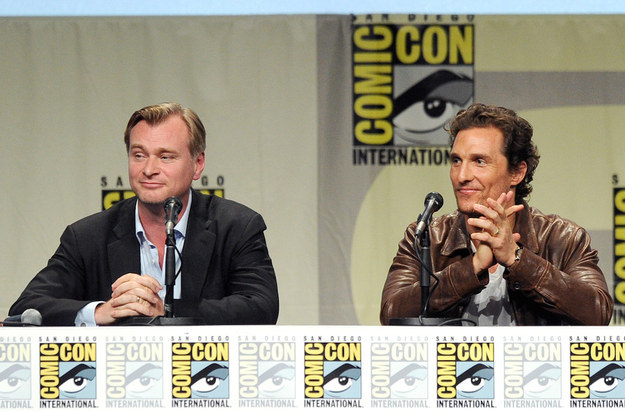 "Christopher Nolan Debuts Epic Look At ""Interstellar"" During Surprise Visit To Comic-Con"