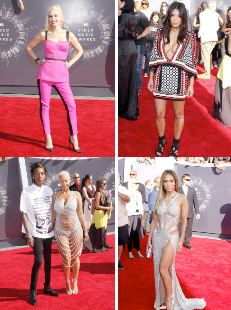 Celebrity Parents Attend 2014 MTV VMAs