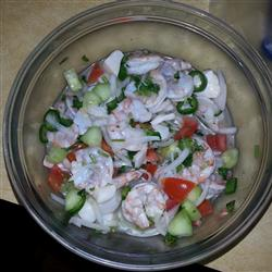 Low-Fat Recipes: Javi's Really Real Mexican Ceviche