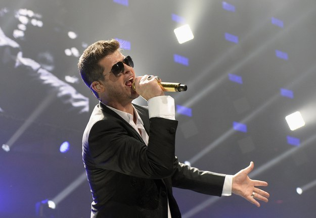 A Full History Of Robin Thicke's Recent Blunders