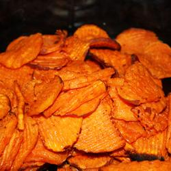 MyPlate Recipes: Spicy Sweet Potato Chips