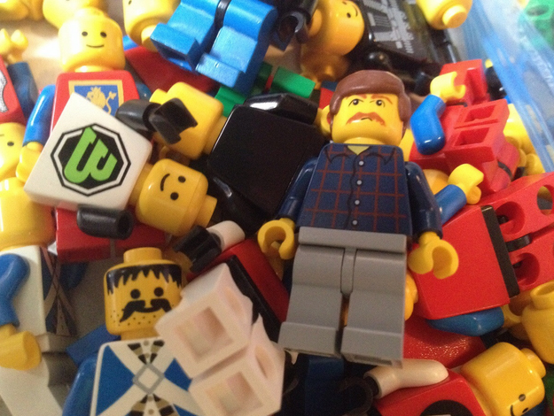 Someone Found Ron Swanson In Their Old Lego Collection