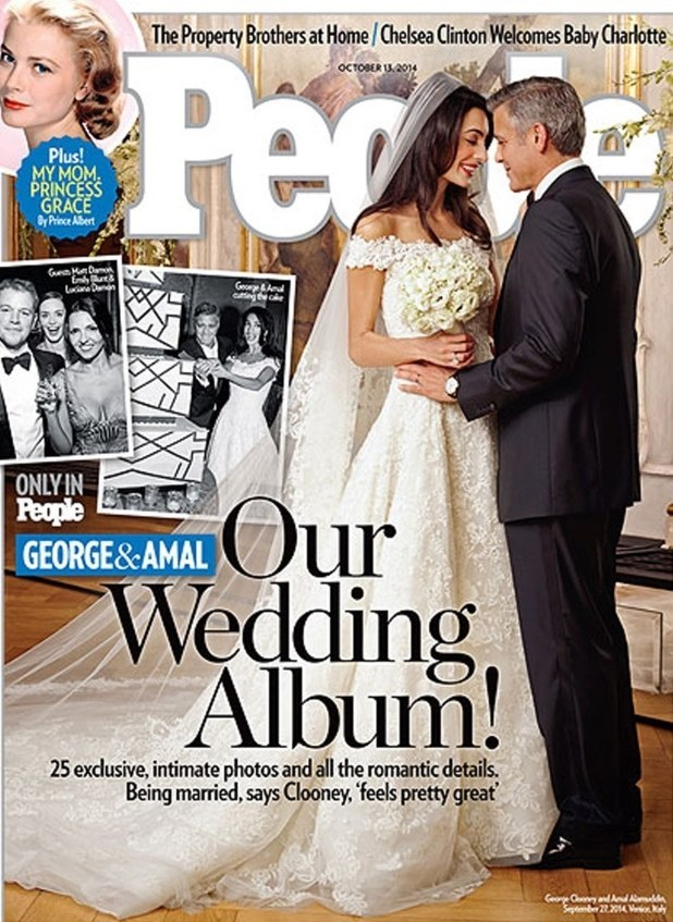 This Is What Amal Alamuddin's Actual Wedding Dress Looked Like