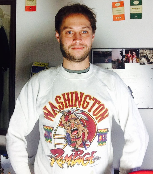 Check Out All This Cool Vintage Redskins Gear!!!