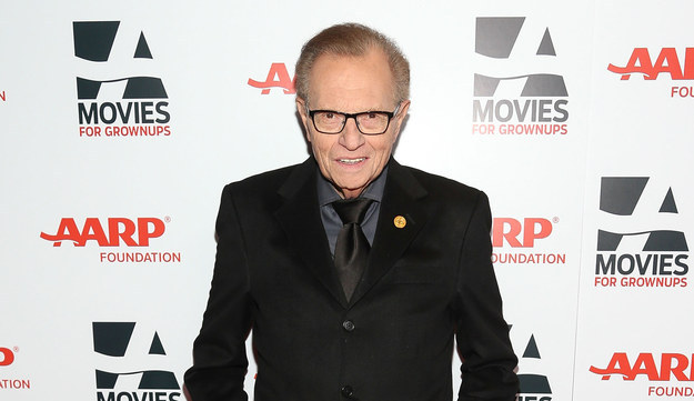 Larry King Went On The Most Amazing Hour-Long Twitter Overshare Last Night