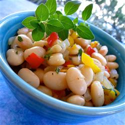 MyPlate Recipes: White Beans and Peppers