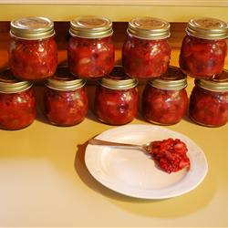 Low-Calorie Recipes: Spicy Cranberry Chutney