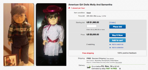 This Is How Much Your American Girl Dolls Might Be Worth Now