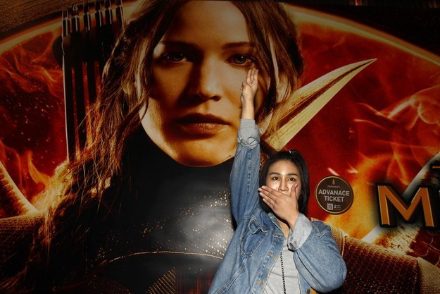 """""""Mockingjay"""" Filmmakers React To Thai Protesters Adopting """"Hunger Games"""" Salute"""