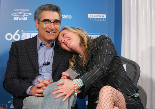 Eugene Levy And Catherine O'Hara Look Back On Their 40-Year Friendship