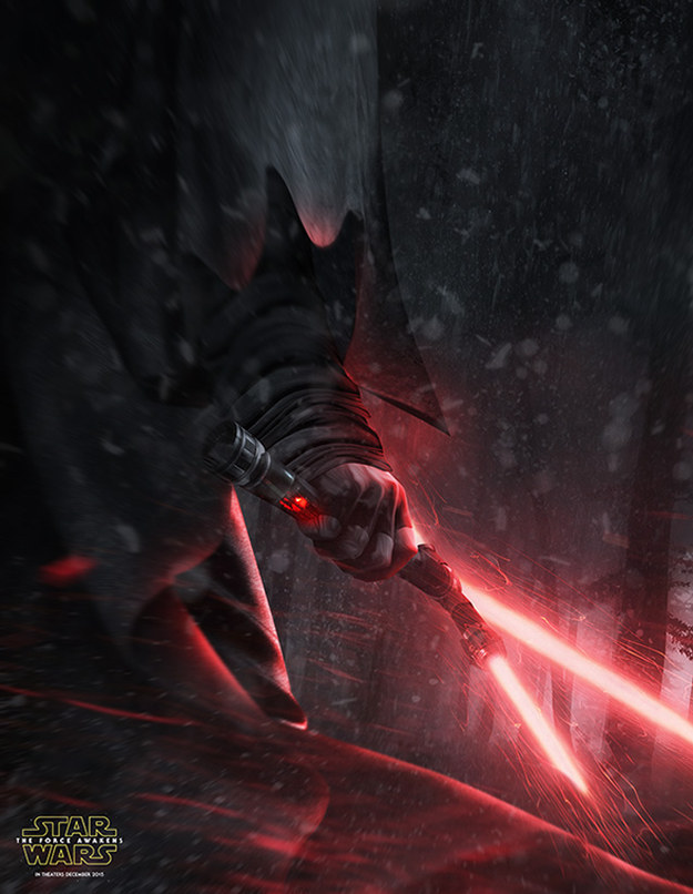 "This Amazing Fan Art Will Get You Even More Excited For ""Star Wars: The Force Awakens"""