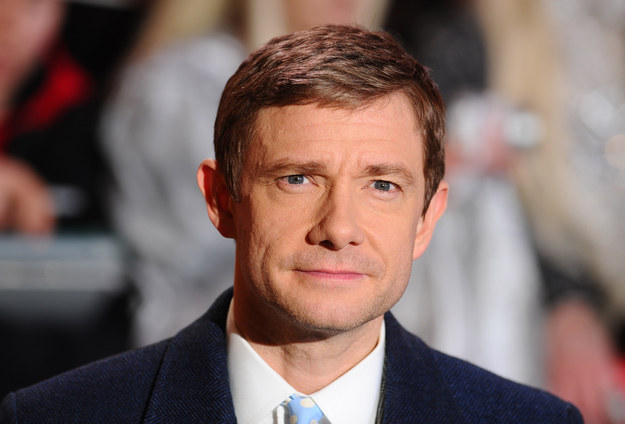 "Martin Freeman Says The Media Should Write About Ferguson Rather Than Obsess About ""Sherlock"""