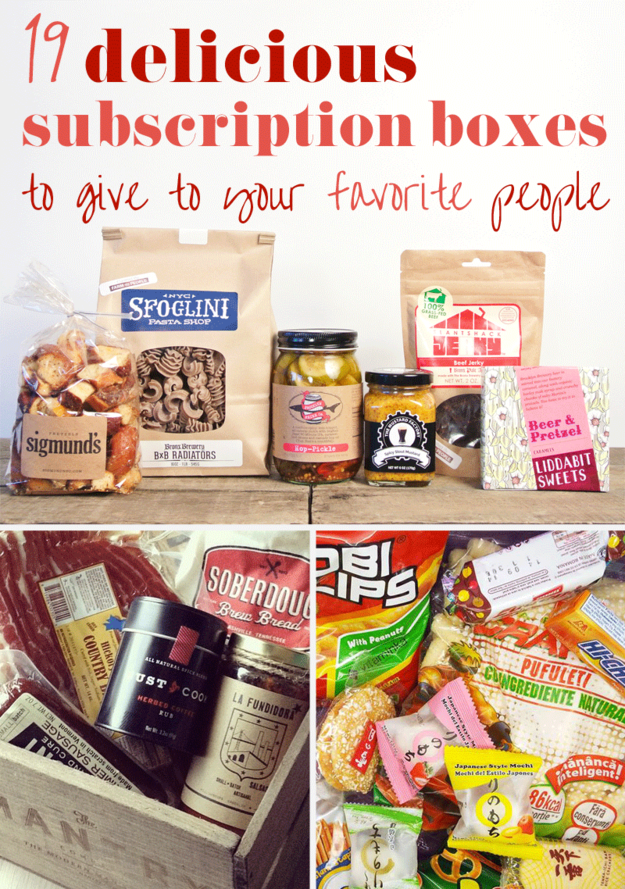 19 Delicious Subscription Boxes To Give To Your Favorite People