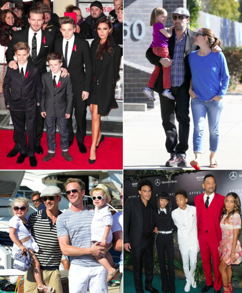 Readers' Choice Awards: Favorite Celebrity Parents of 2014