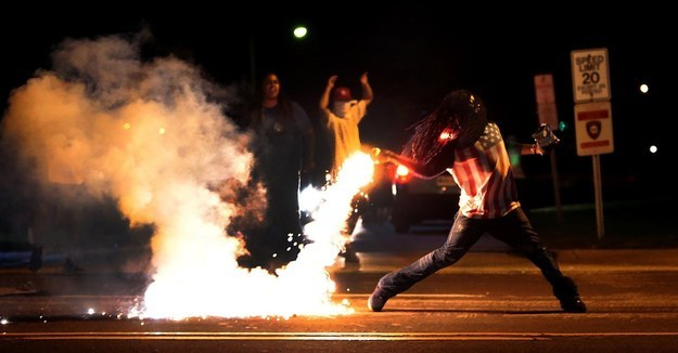 Police Now Have To Warn Ferguson Protesters Before Firing Tear Gas